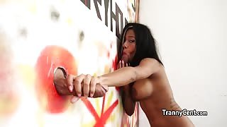 Gloryhole transex con Tatiana Guzman...