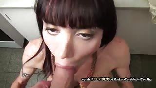 Mariana Cordoba trans superdotata e il suo amante!