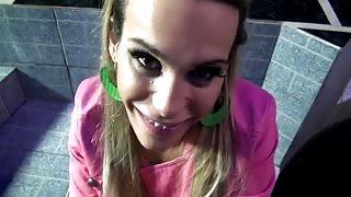 Stupenda trans bionda Evelin Rangel in un eccitante POV!